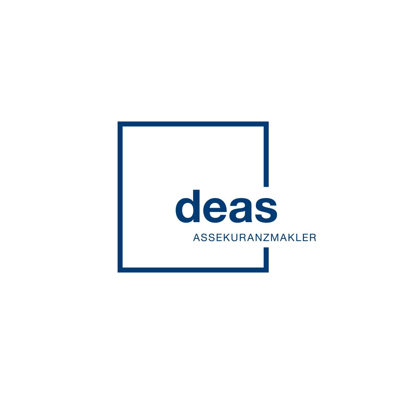 Logodesign deas Assekuranzmakler